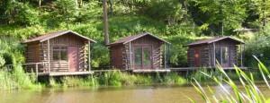 Log Fishing Cabins